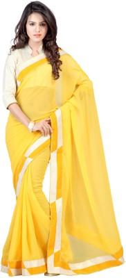 Simran Fashion Embellished Bollywood Handloom Georgette Sari
