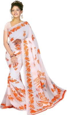 Kjs Self Design Bollywood Georgette Sari