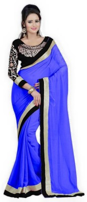Mac Enterprise Self Design Bollywood Georgette Sari