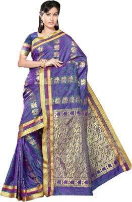 Paaneri Self Design Fashion Art Silk Sari