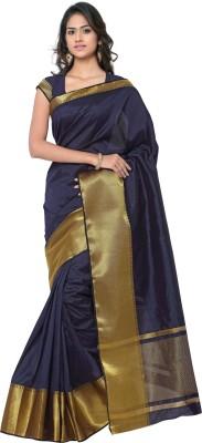 MINAXI Plain Bhagalpuri Raw Silk Sari