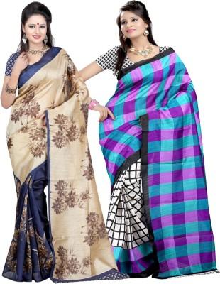 Kuki Fashion Printed Daily Wear Cotton Sari