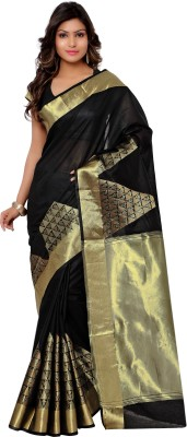 Varkala Silk Sarees Woven Banarasi Handloom Viscose Sari