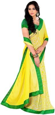 Varanga Printed Fashion Pure Chiffon Sari