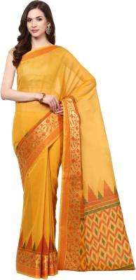 Fabroop Woven Fashion Cotton Sari