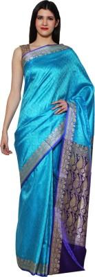 Chhabra Xclusive Paisley Banarasi Viscose Sari