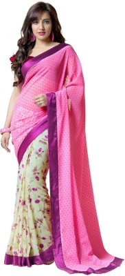 Shree Sakshi Self Design Bollywood Handloom Georgette Sari