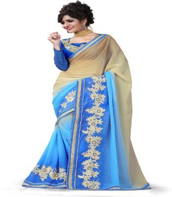 Shopimo Fashion Self Design Fashion Handloom Chiffon Sari