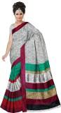 Suyog Prints Printed Bhagalpuri Silk Sar...