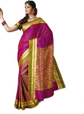 Santana Fashion Woven Kanjivaram Art Silk Sari