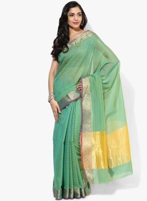Aryahi Striped Mysore Art Silk Sari