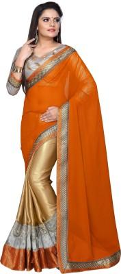 Nakhrali Designer Saree Embriodered Bollywood Georgette Sari