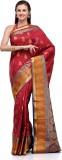 Fabroop Self Design Fashion Art Silk Sar...