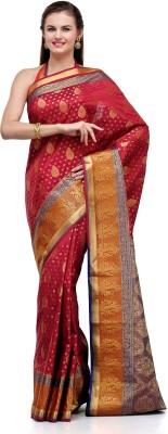 Fabroop Self Design Fashion Art Silk Sari