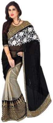 Aradhya Selling Store Embriodered Bollywood Chiffon Sari