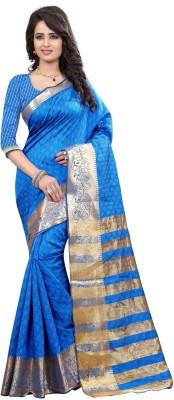 Loot Lo Creation Woven Bandhej Art Silk Sari