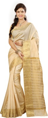 Ishin Printed Fashion Tussar Silk Sari