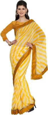 Moiaa Printed Fashion Chiffon Sari