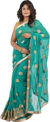 Jasmine Silk Embellished Fashion Satin Sari