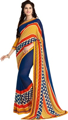 Shop Plaza Printed Daily Wear Georgette Sari