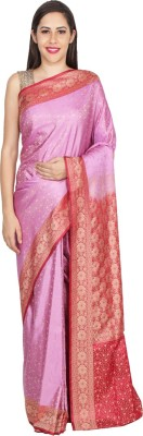 Chhabra Xclusive Self Design Banarasi Art Silk Sari