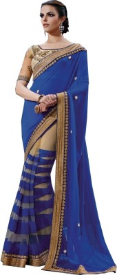 Trisha Designs Embriodered Bollywood Georgette Sari
