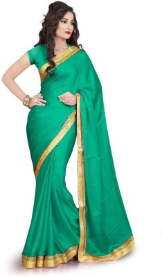 Memsahiba Plain Fashion Chiffon Sari