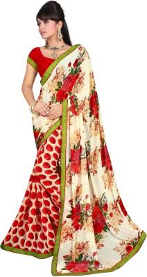Anu Creation Self Design Daily Wear Chiffon Sari