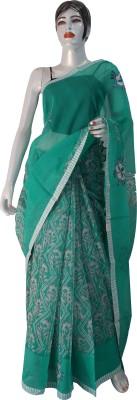 sakshi creations Printed Daily Wear Kota Cotton Sari