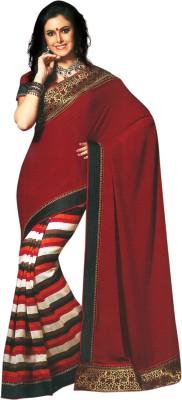 Fashion Striped Fashion Art Silk Sari