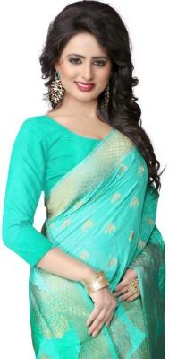 SareeStudio Printed Banarasi Silk Sari