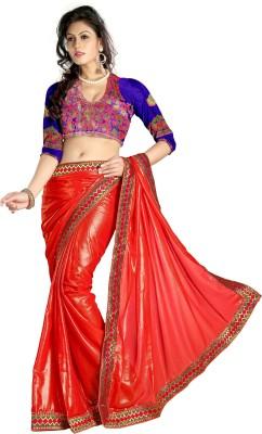 Awesome Self Design Fashion Cotton Sari
