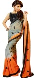 Glory Sarees Embroidered Bollywood Georg...