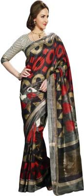 Punam Fashion Solid Mangalagiri Banarasi Silk Sari
