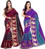 Azara Lifestyle Embellished Banarasi Ban...