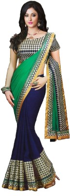 Aliya Trendz Embriodered Fashion Georgette Sari
