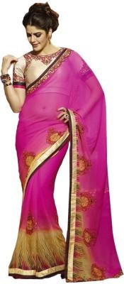Jealous Boutique Embriodered Fashion Handloom Georgette Sari