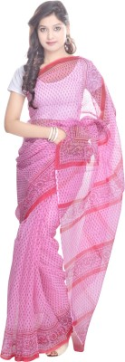 Kalrav Printed Kota Doria Kota Cotton Sari