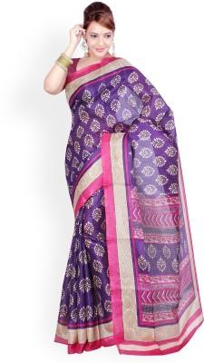 Aadhya Fashion House Self Design Chanderi Silk Sari