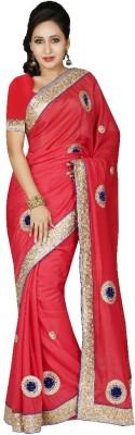 NSMedia Self Design Fashion Silk Sari