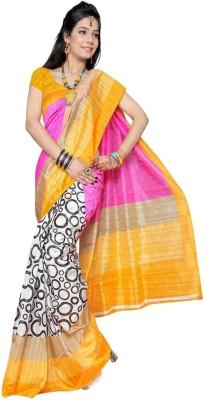 Jaanvi Printed Bollywood Handloom Silk Sari