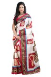 Anoha Printed Fashion Art Silk Sari