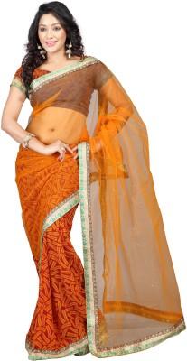 Murli Manohar Fashions Embriodered Bollywood Handloom Net Sari