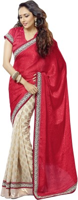 FNF Self Design Fashion Viscose Sari