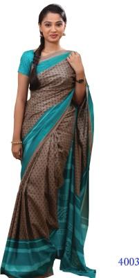 Uniformsareesindia Printed Daily Wear Art Silk Sari