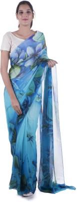 Surbhi Printed Fashion Pure Georgette Sari