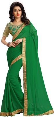 Stylezone Embriodered Fashion Georgette Sari