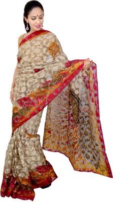 Urban Style Printed Fashion Handloom Art Silk Sari