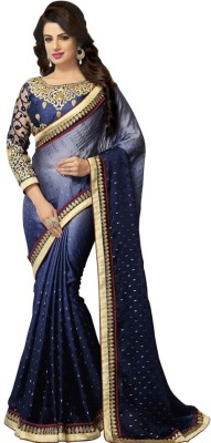 Kintu Designs Pvt. Ltd. Self Design Fashion Satin Sari