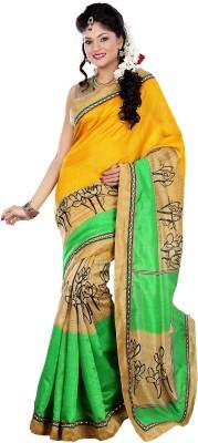 Fabgruh Printed Fashion Silk Sari